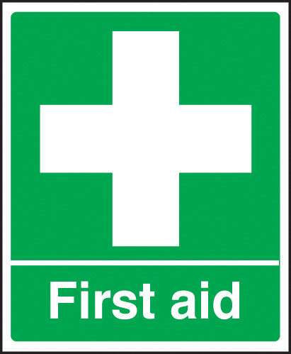 Signs Safety First First Aid Sign Rigid Plasic