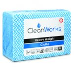 High Quality Hygiene Cloth BLUE, pack of 25 (Cleanworks Range)