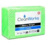 High Quality Hygiene Cloth GREEN, pack of 25 (Cleanworks Range)