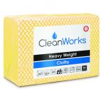 High Quality Hygiene Cloth YELLOW, pack of 25 (Cleanworks Range)