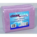 Light Weight Cloths RED 51x36, pack of 100 (Cleanline Range)