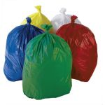 Plastic Sack - Case of 200 - Red