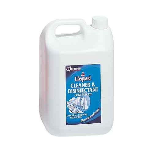 Lifeguard Cleaner Disinfectant Concentrate, 5 litres