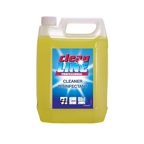 Cleanline Cleaner Disinfectant, 5 litres