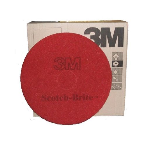 Scotch Brite Red Buffing Floor Pads 17""