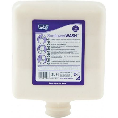 Deb Sunflower wash Hand Cleanser 4 litre (case of 4)