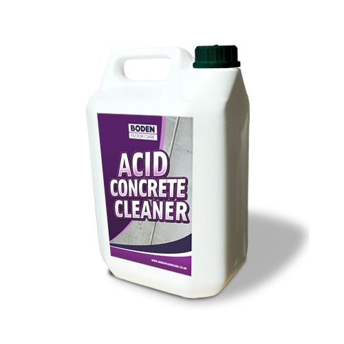 Boden Acid Concrete Floor Cleaner - 5 litre